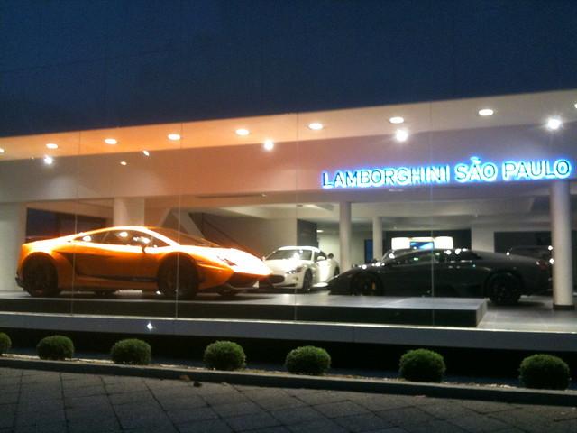 Lamborghini High End Fashion Interior