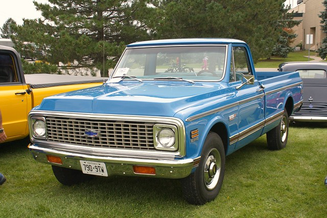 1972 Chevrolet C20 Fleetside pickup