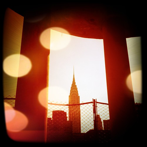 An iPhone 4 photo: Chrysler Building ...