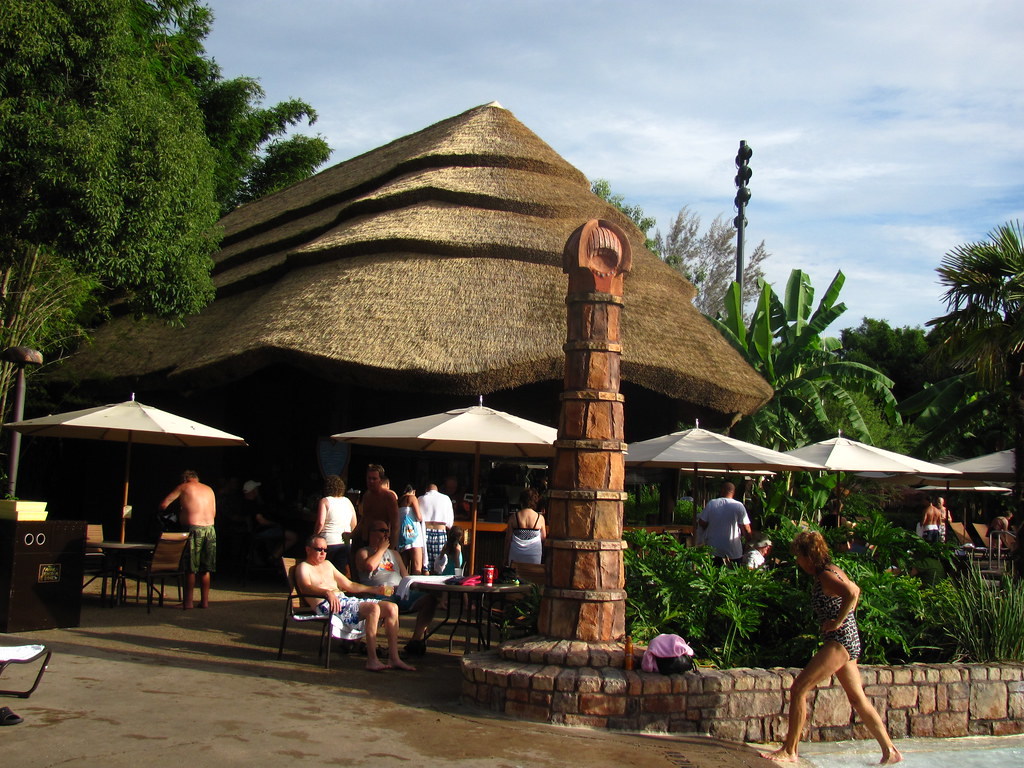 Uzima Springs Pool Bar at Jambo House at Animal Kingdom Lodge