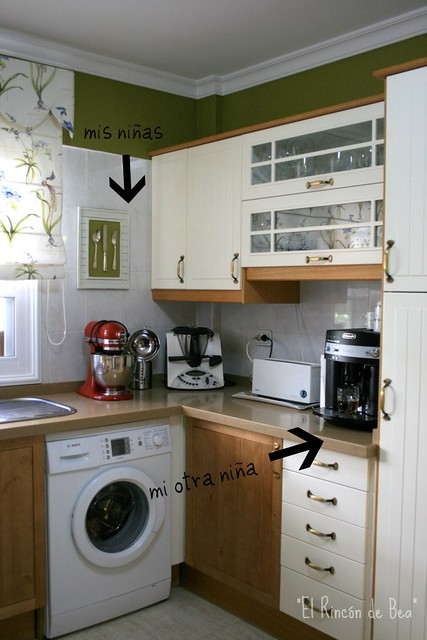 Y por fin la cocina el rinc n de bea - Como renovar un dormitorio por poco dinero ...