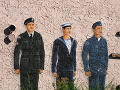 Cadets on Nanaimo Hall