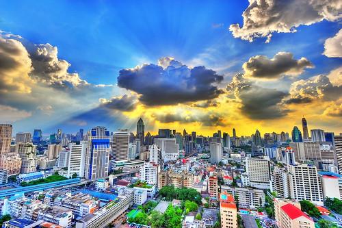 Photo:Bangkok Clouds By:MikeBehnken