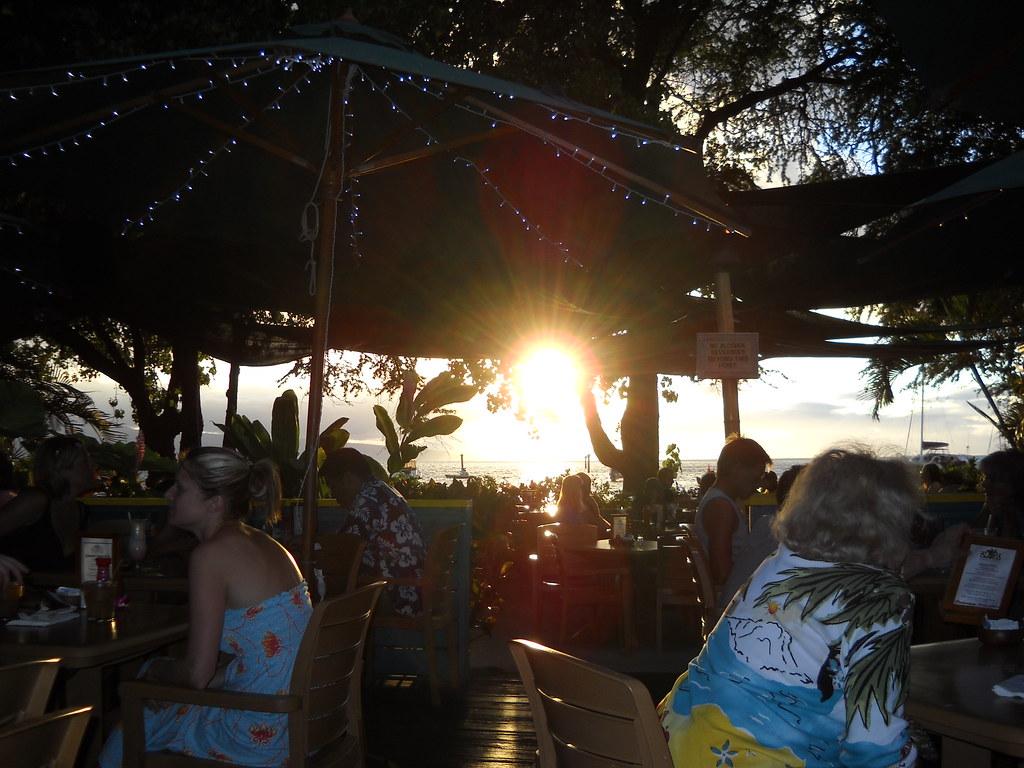 Evening at Aloha Mixed Plate
