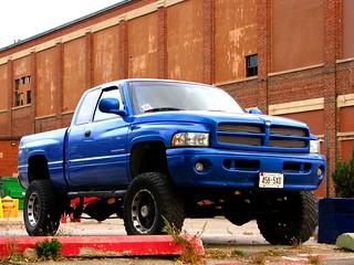 Lifted Dodge Ram