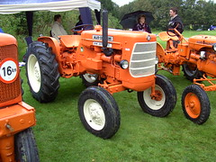 Tractors old and new