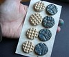 Ceramic Buttons by artisanclay