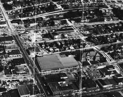 Aerial of West Seattle, 1957