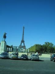 Tour Eiffel et Champ de Mars