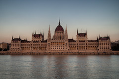 Parliament sunset HDR