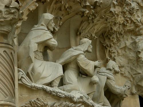 Les rois mages viennent adorer Jésus