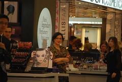 Customer at Mecca Cosmetics