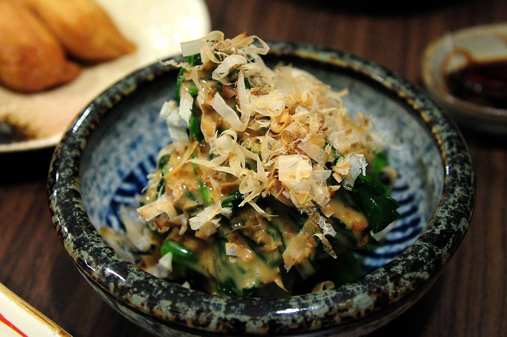 竹壽司-胡麻菠菜