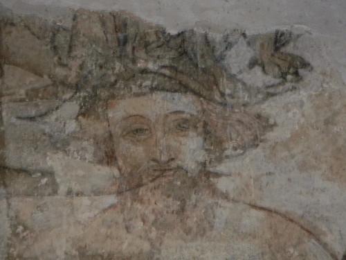 Face, St Nicholas' Church, Arundel