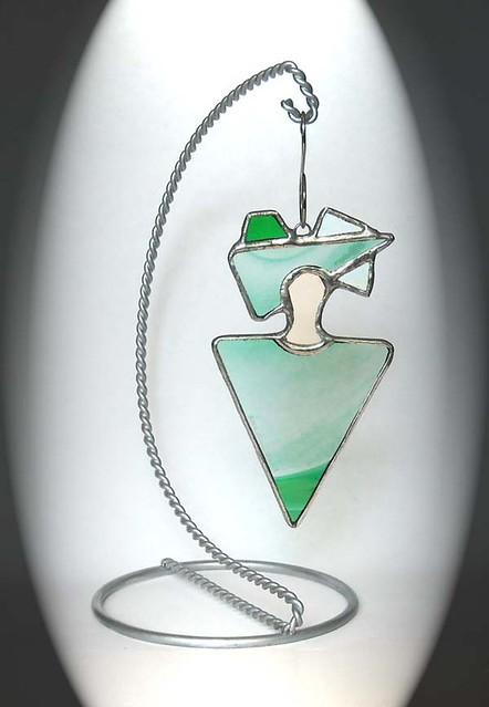 Green Peacrful Spirit Ornament