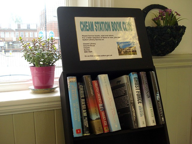 Cheam Station book club