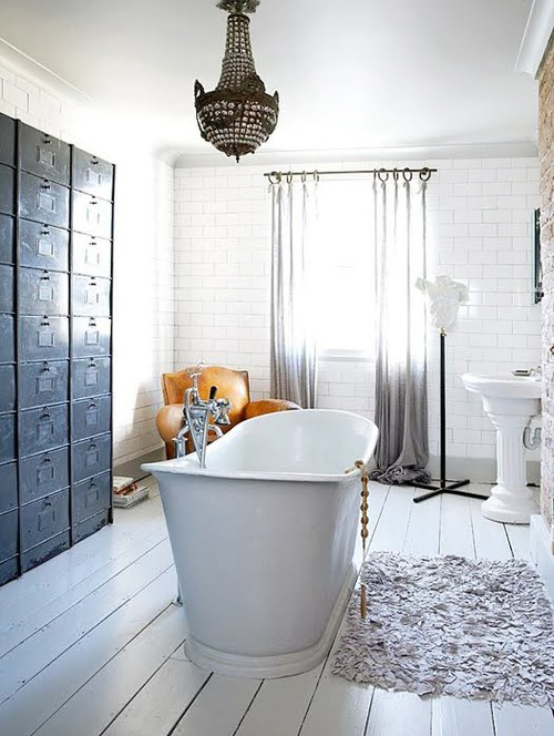 Bathroom Floor Inspiration : Bathroom inspiration the style files