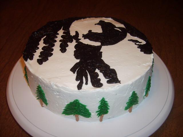 wolf cakes