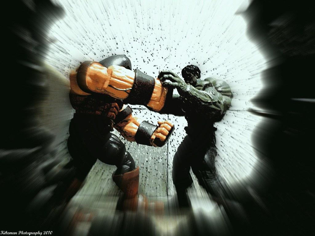 Hulk Vs Juggernaut The Amazing Kikeman Flickr