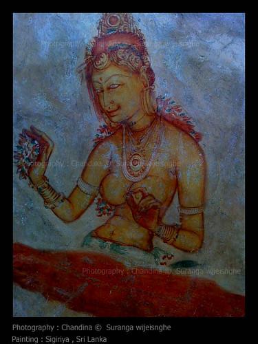 Painting - SIGIRIYA