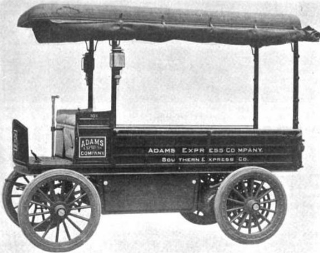 1903 Electric Delivery Wagon -Truck  by Vehicle Equipment Co