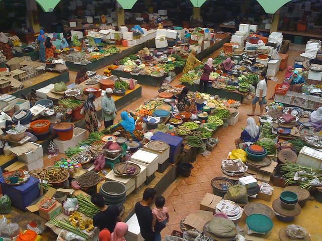 Pasar Siti Khadijah yang unik (gambar)  Explore faizalr's p