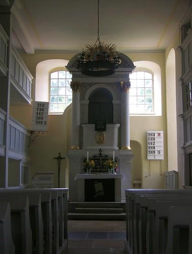 Niederschöna - Dorfkirche, interior