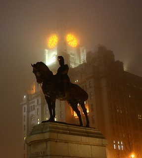 Foggy Liver Building (Explore)