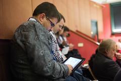 David Hornik testing Sudoku on iPad