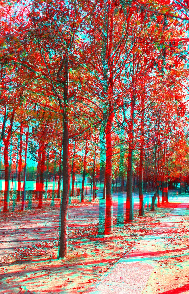 3D Camera Photo anaglyph 稲美町にて