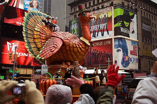 Thanksgiving Day Parade from Flickr via Wylio