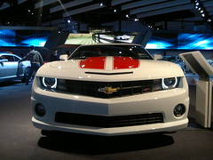 chevrolet, automobile, automotive exterior, exhibition, wheel, vehicle, automotive design, auto show, bumper, land vehicle, chevrolet camaro, coupã©, motor vehicle,