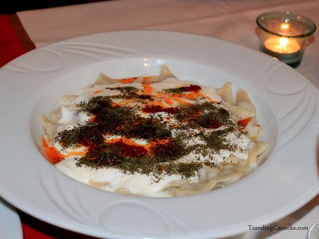 Yaprak Manti - Turkish Pasta