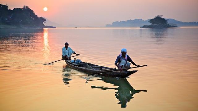 Boatmen, Brahmaputra