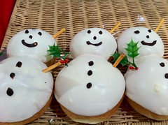 food, icing, dish, cuisine, snack food, snowman,