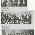 Senate Officers, The Mountaineer Staff, B.H.S. Glee Club, Butte High School, Butte, MT