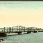 Bay of Quinte Bridge, Belleville, Ontario, Canada (1910)