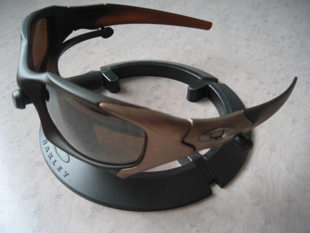 213d8feb42 ... Oakley Pit Boss® Matte Rootbeer   Bronze w Tungsten Iridium Polarized