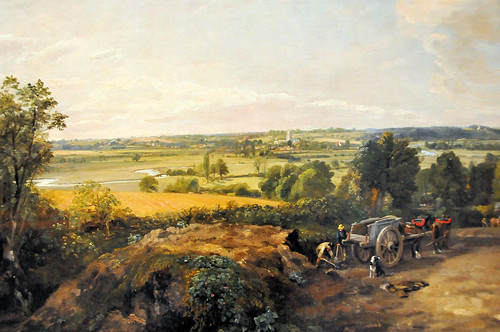 John Constable - Stour Valley and Dedham Church at Boston Museum of Fine Arts