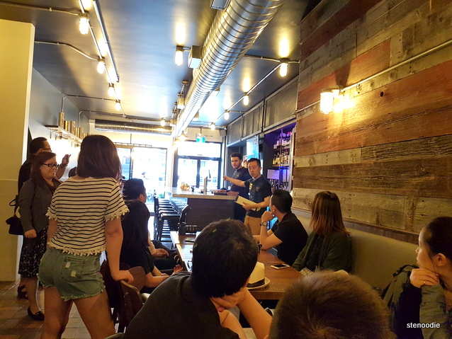 CANO Restaurant interior