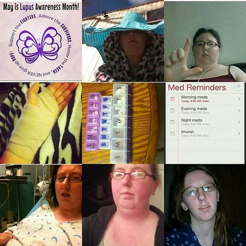 Lupus awareness collage