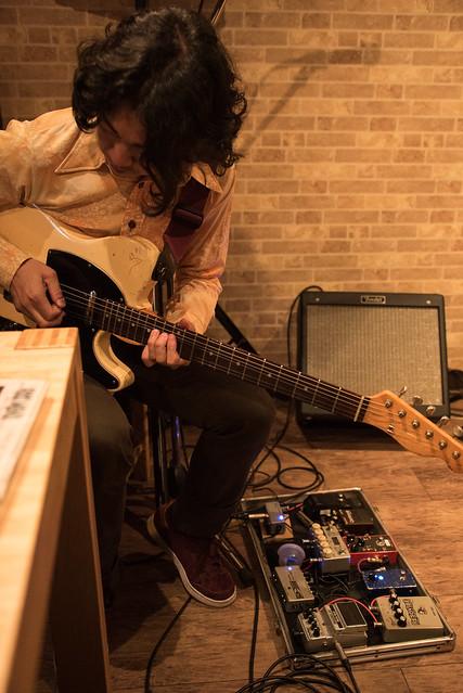 the AstroBluenauts live at Butcher Hachioji, Tokyo, 30 Jun 2017 -00134
