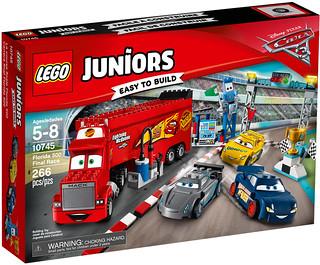 「全新顏色的麥坤?!第八組終於現身!」LEGO 10745 汽車總動員3【佛羅里達500 最終決賽】Florida 500 Final Race