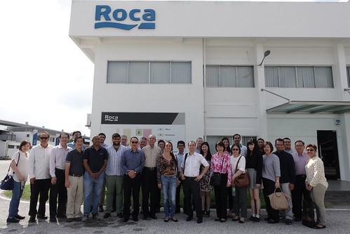 2017 July - MABC & La Cámara Site Visit & Networking Lunch at Roca Malaysia