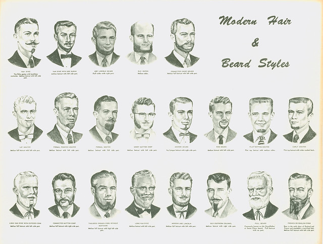 Names of Different Beard Styles