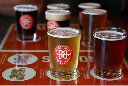BBQ Lunch at Breckenridge Brewery
