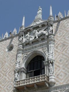 Image of Piazzetta San Marco near Venice. venice italy sculpture canals unescoworldheritagesite unesco worldheritagesite venezia palazzoducale dogespalace piazzasanmarco doge stmarkssquare veneto piazzettasanmarco northernitaly lionofstmark cityofcanals theducalpalace