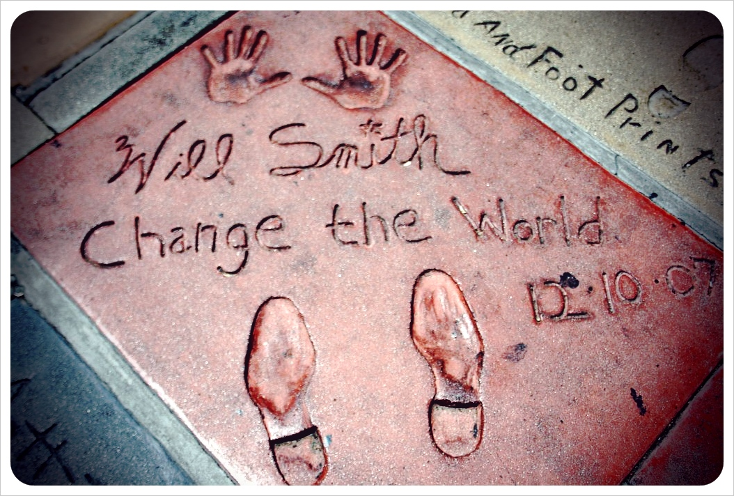 Will Smith Footprints