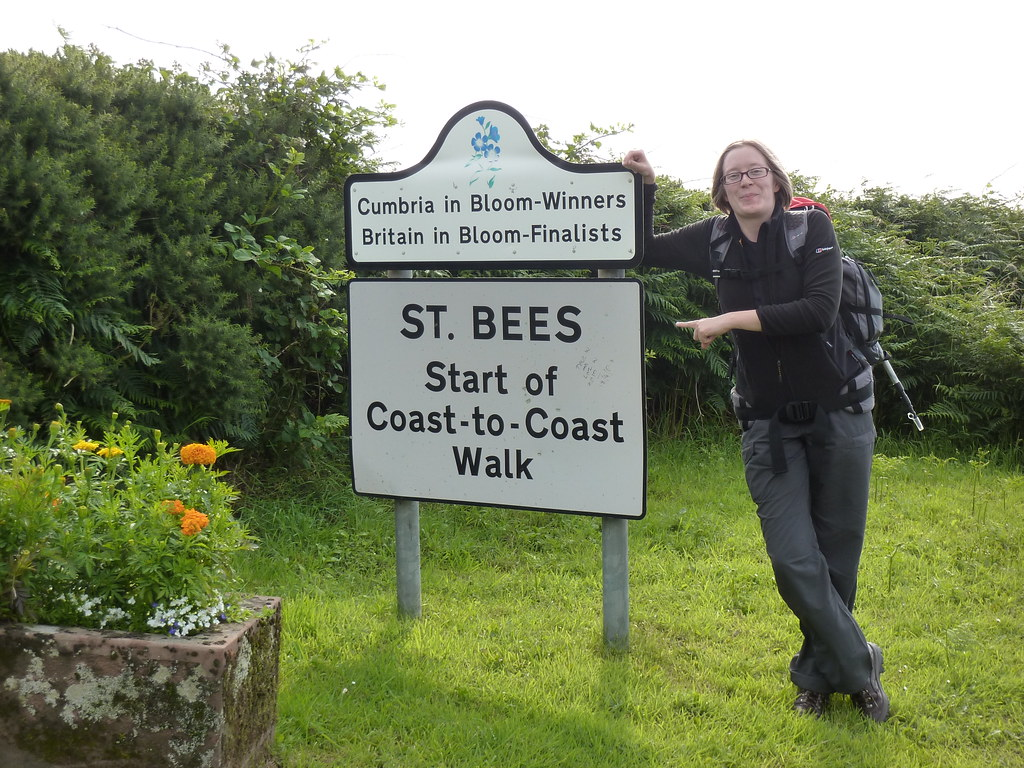 A Coast To Coast Walk, July 2010