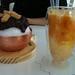 patbingsu and mango latte at Passion 5 Cafe